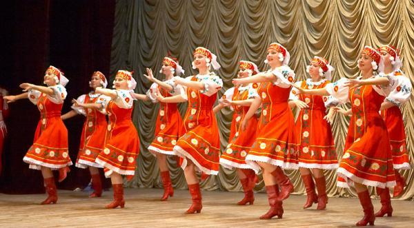 Сапоги для народных танцев компании Dancemaster