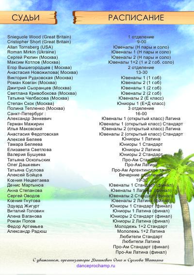 """WDC AL Saint Petersburg Open Championship 2014"""