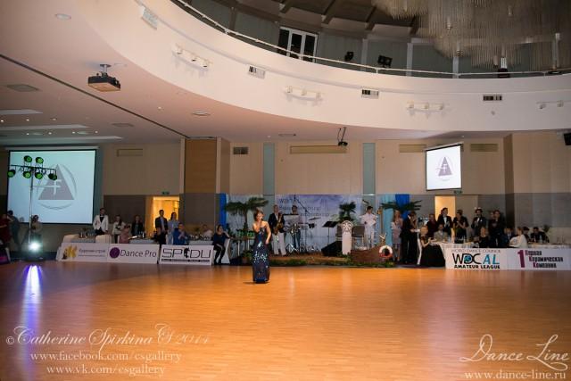 """Танцевальный салон Dance Line с огромным удовольствием сообщает, что 13 апреля 2014 года в городе на Неве прошел один из ярких и красивейших турниров по спортивным бальным танцам – международный турнир """"WDC AL Saint Petersburg Open Championship 2014""""!"""