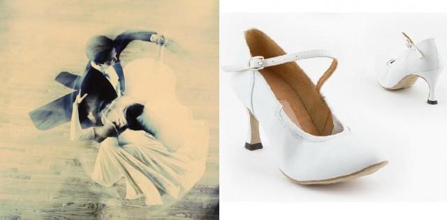 Туфли для европейской программы Dance Master