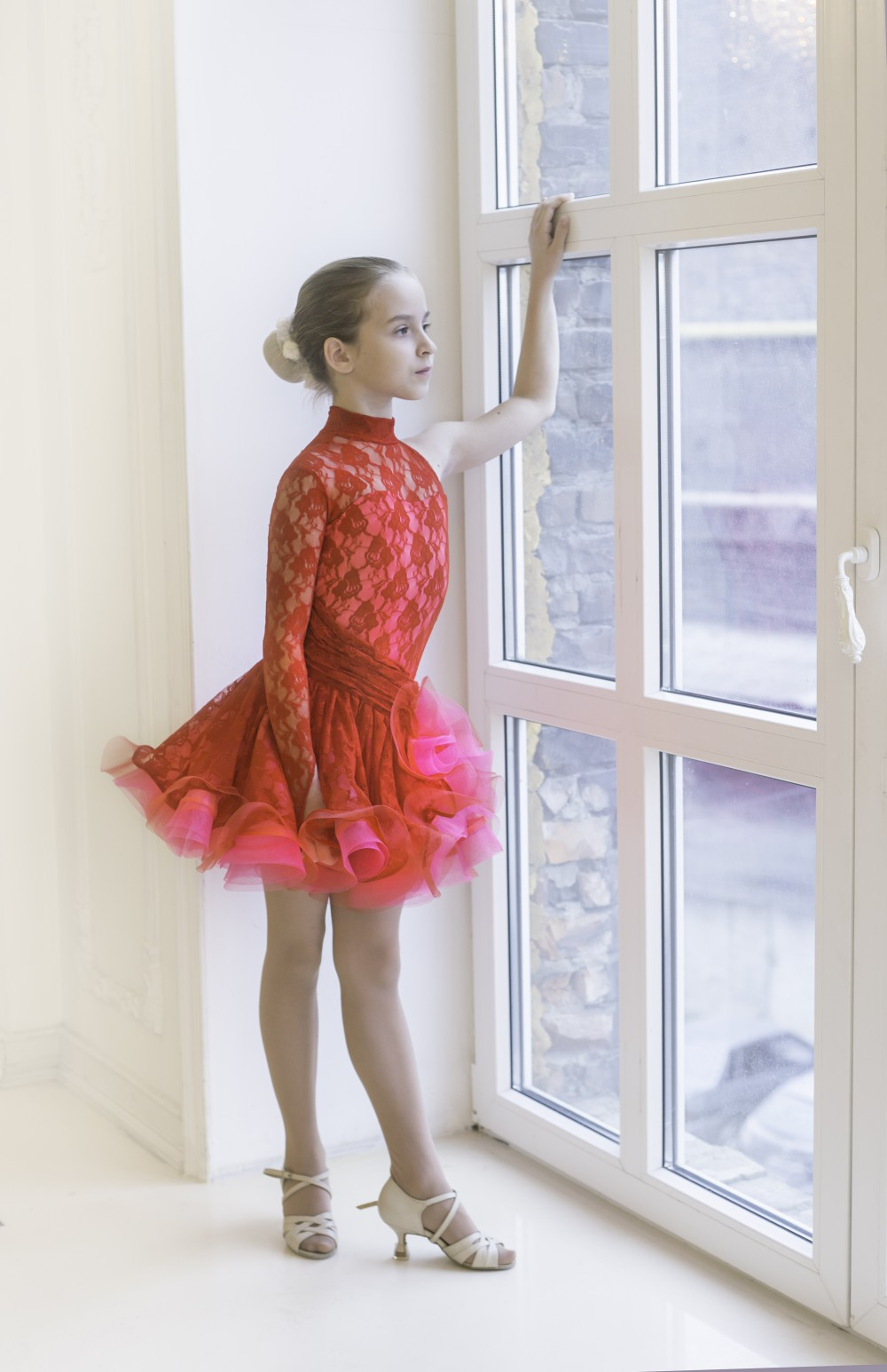 Пышное платье для латины