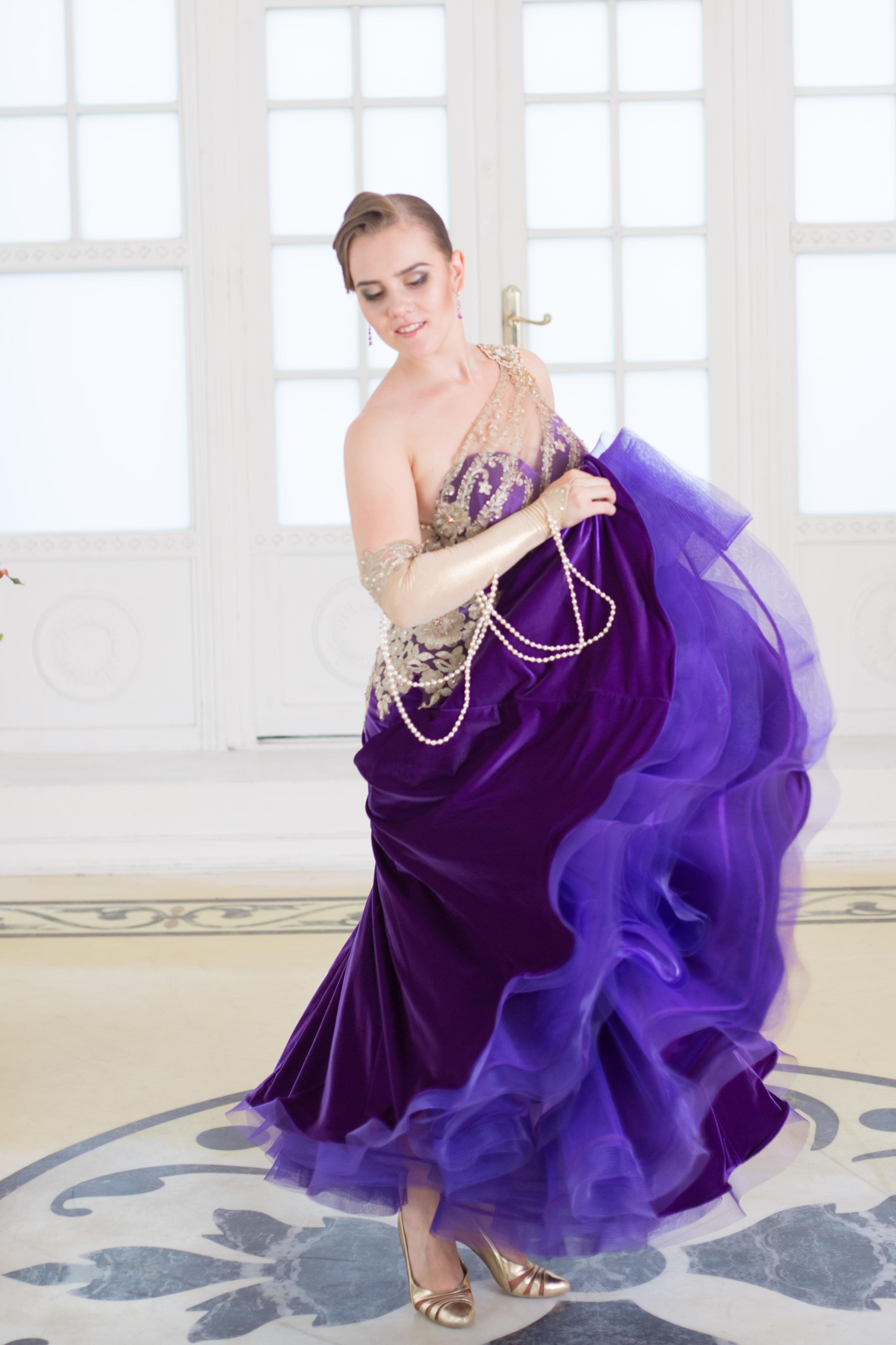 НОВЫЕ РАБОТЫ АТЕЛЬЕ DANCE LINE: ПЛАТЬЕ ДЛЯ СТАНДАРТА КАТРИН