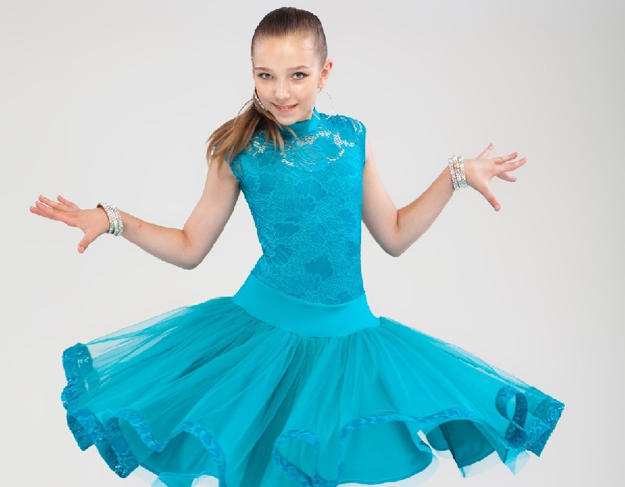 Купить Платье Для Девочки Для Танцев В Интернет Магазине