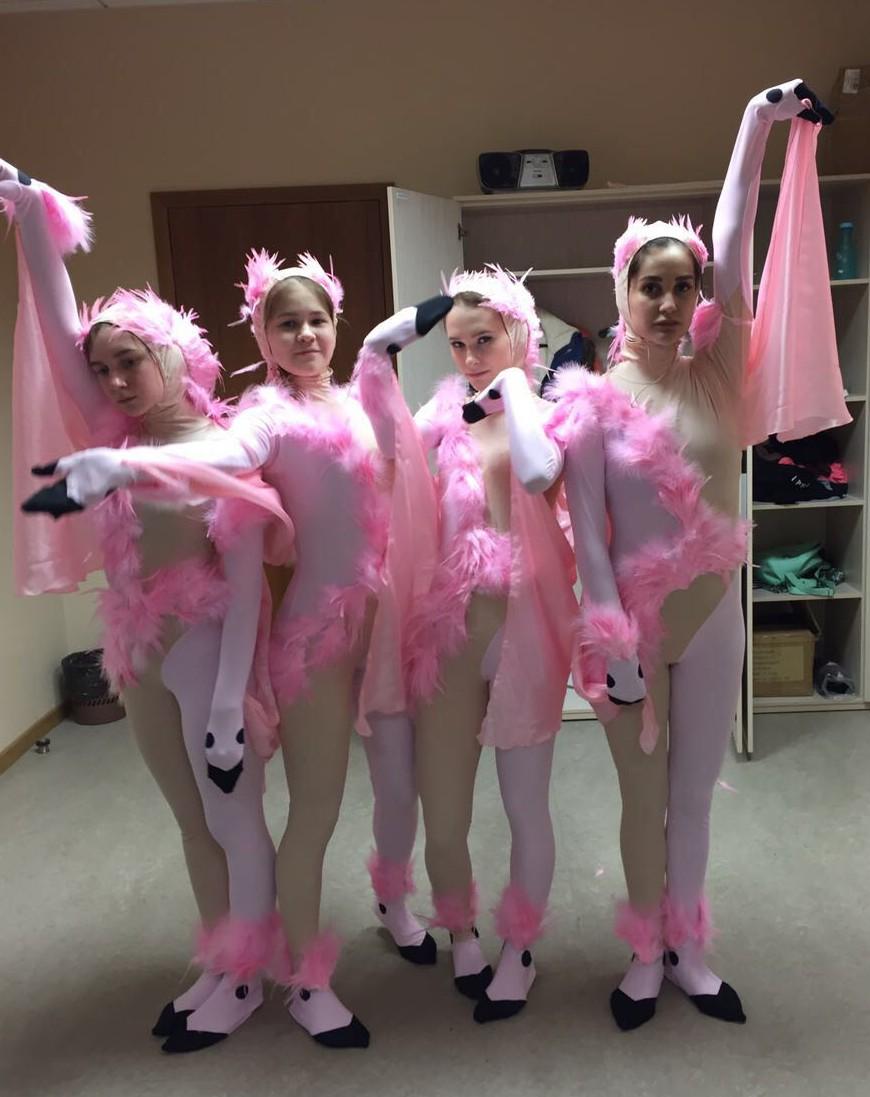 НОВЫЕ РАБОТЫ АТЕЛЬЕ DANCE LINE: СЦЕНИЧЕСКИЕ КОСТЮМЫ ФЛАМИНГО