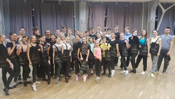 Сумки на заказ для танцевального коллектива