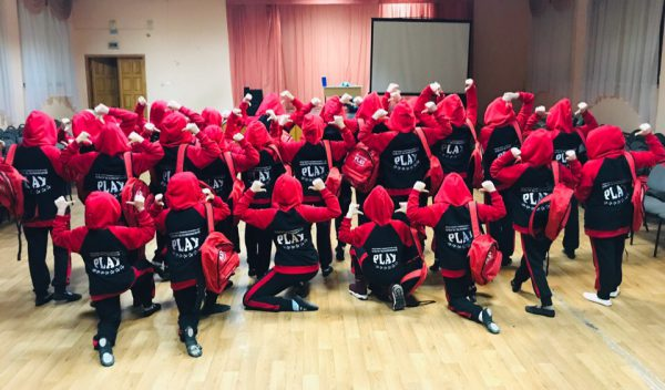 Спортивные костюмы на заказ для танцевального коллектива