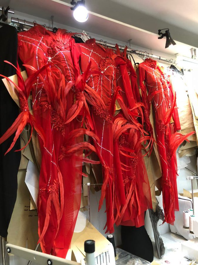 Платье латина пошив