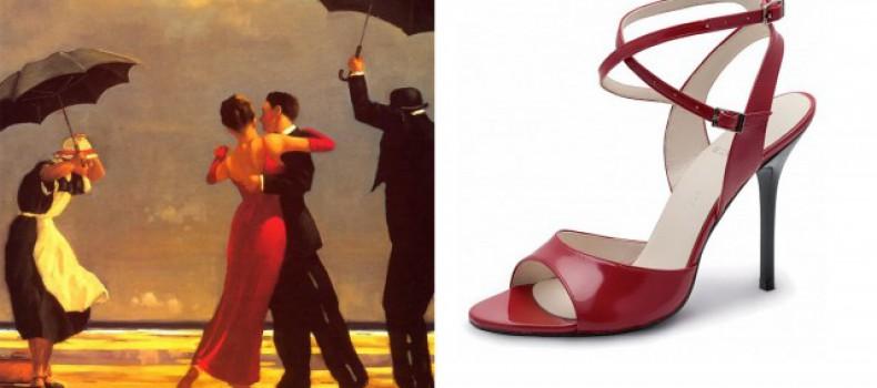 Новые поступления: Обувь для танго